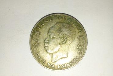 1974_shilingi 1 ya tanzania