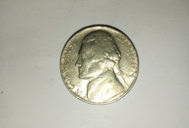 1974_ united states of America 5 cents