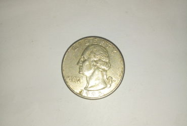 1995_ united states of America quarter dollar
