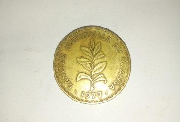1977_ banque nationale du Rwanda 50 cinquante francs