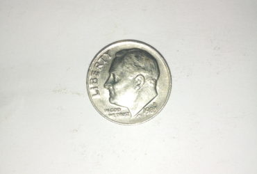 1983_ united states of America 1 dime