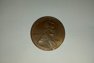 2001_ united States of america 1 cent