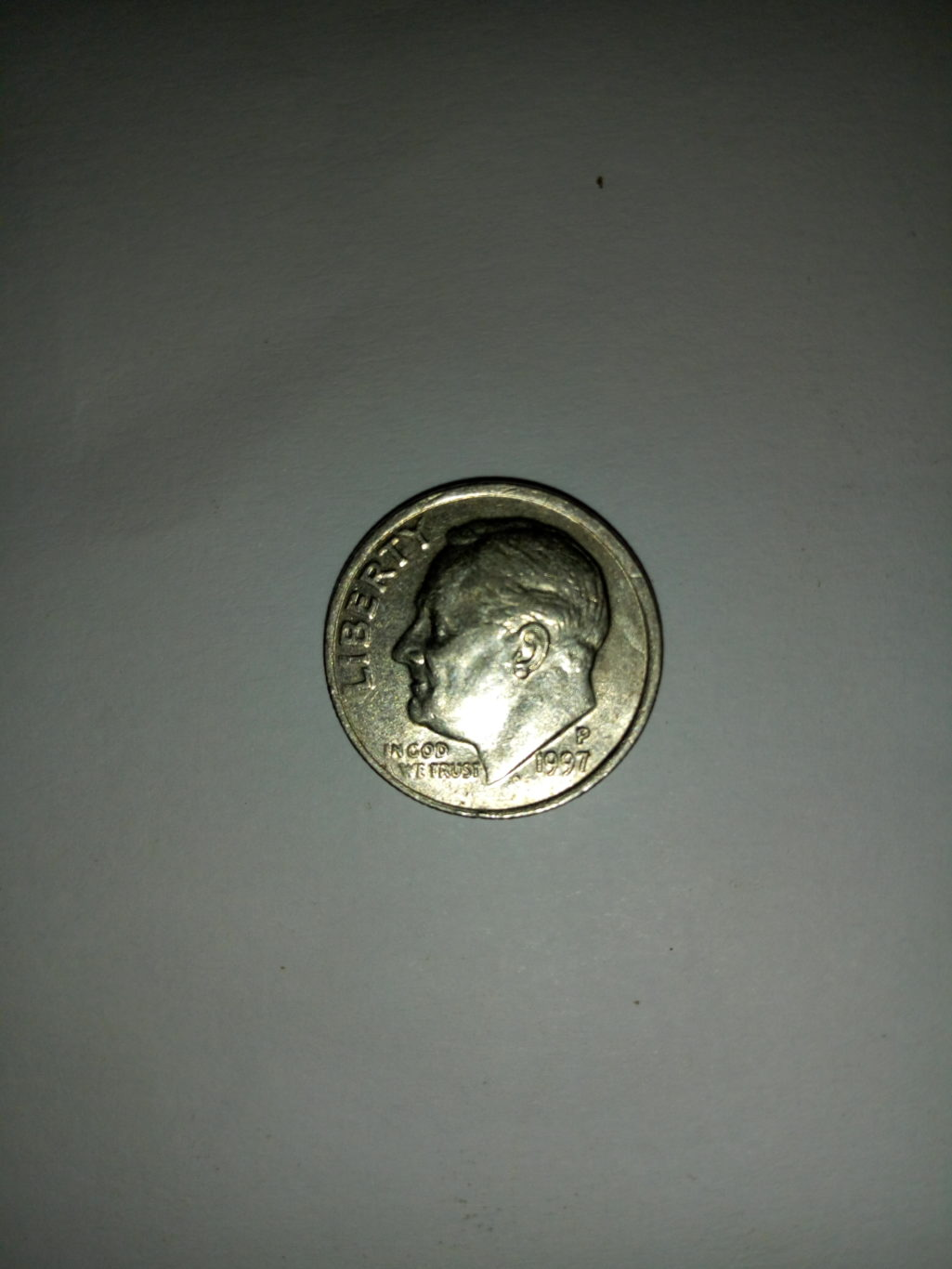 1997_ united States of america 1 dime