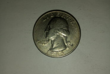 1985_united States of america quarter dollar