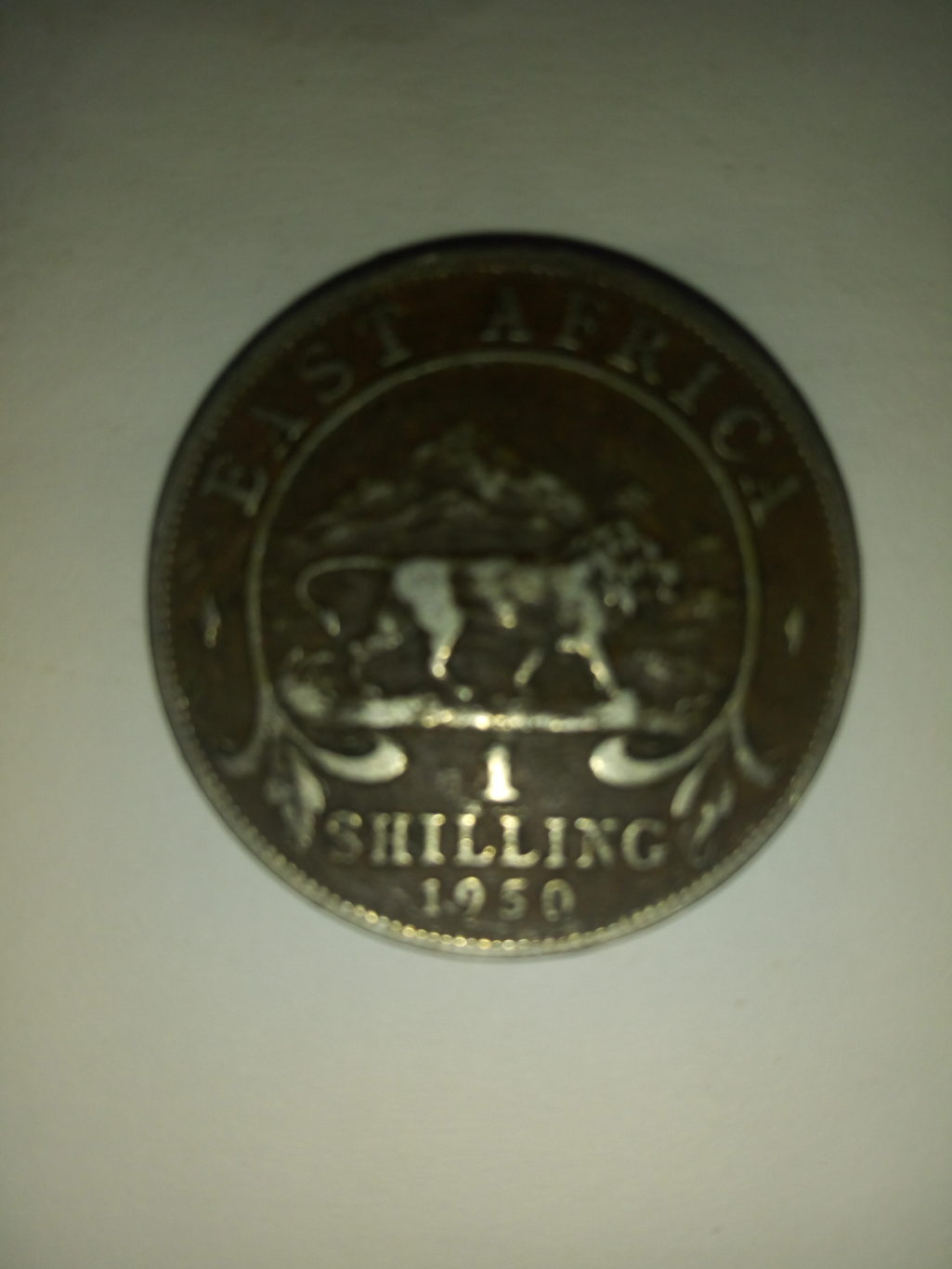 1950_georgivs east Africa 1 shilling