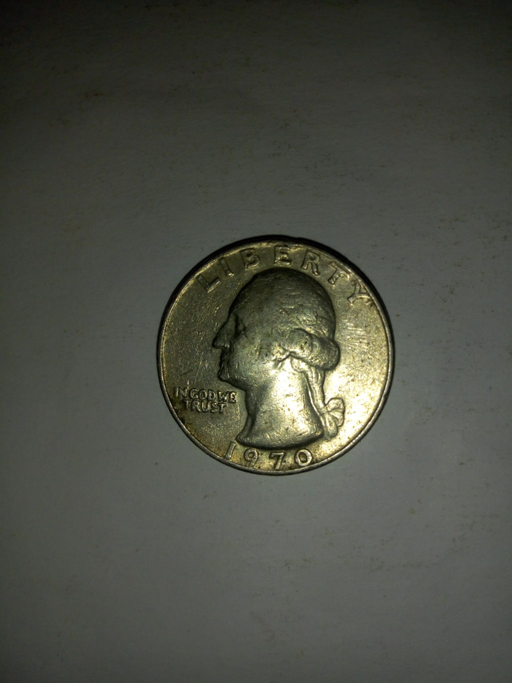 1970_united States of america quarter dollar