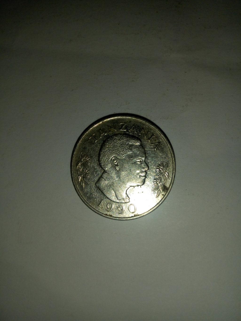 1990_shilingi 1 ya tanzania