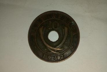 1942_georgivs V1 10 cents