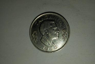 1988_shilingi 1 ya tanzania