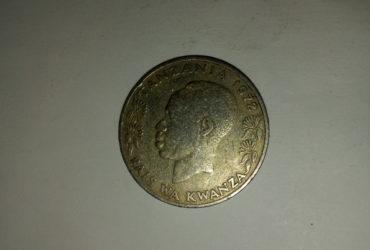 1972_shilingi 1 ya tanzania