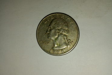 1996_united States of america quarter dollar