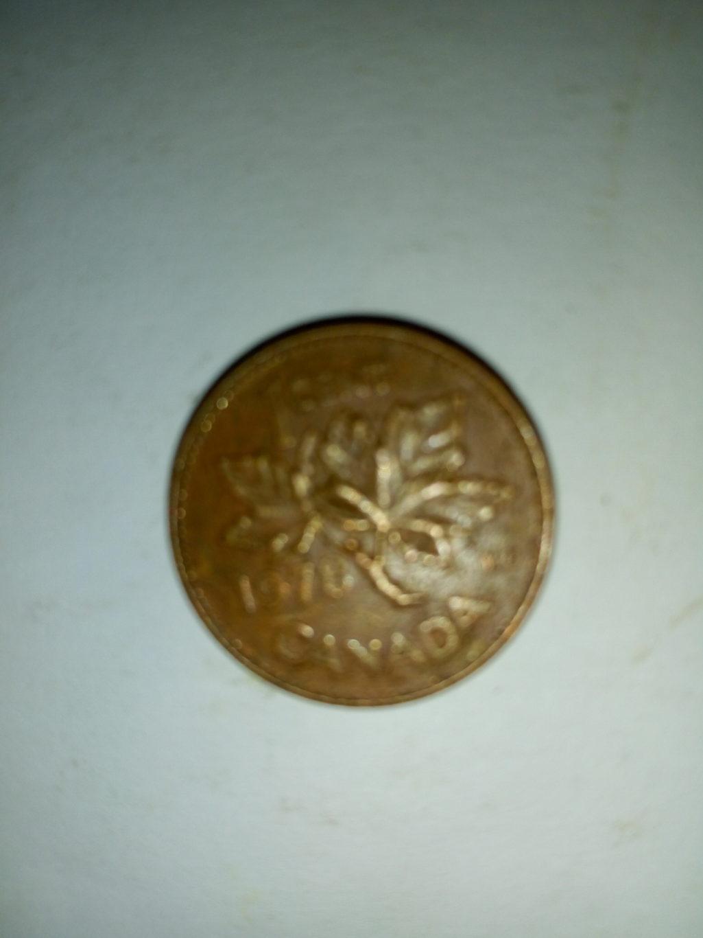 1978_Elizabeth 11 1 cent canada