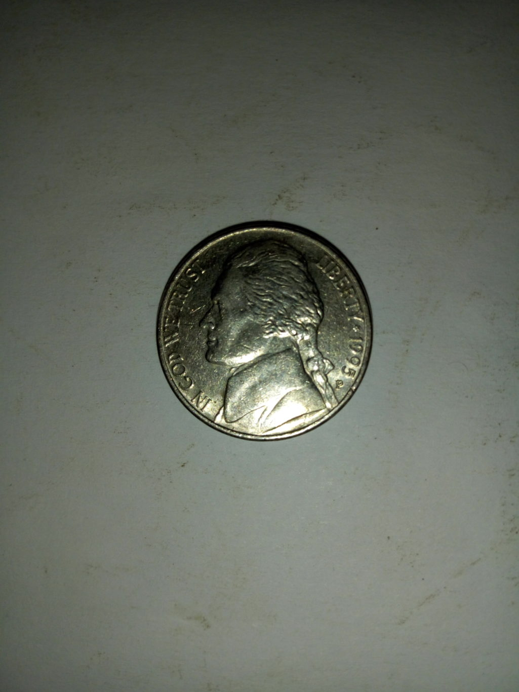 1995_united States of America 5 cents