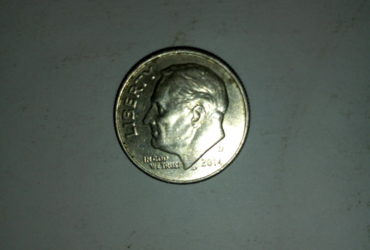 2014_united States of America 1 dime