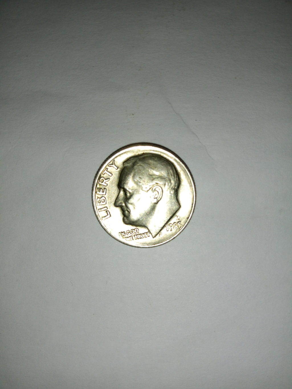1985_united States of America 1 dime