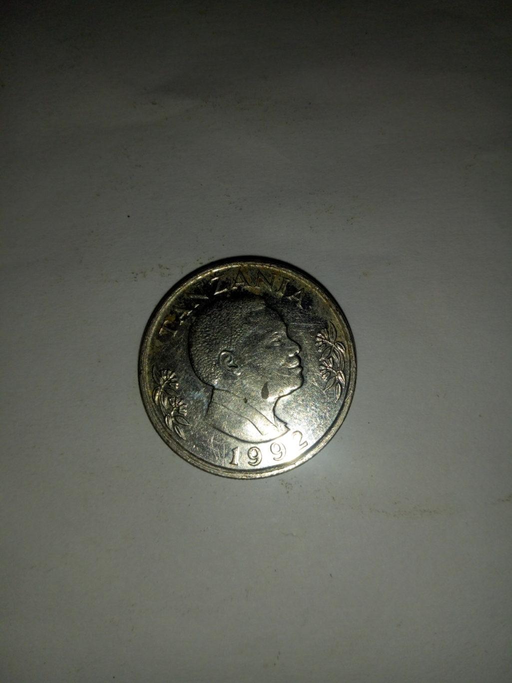 1992_shilingi 1 ya tanzania