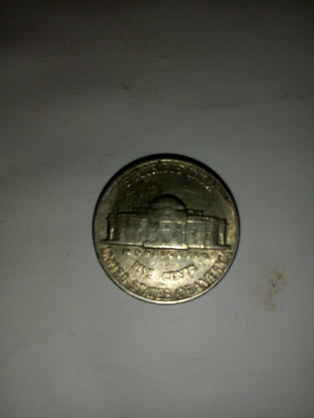 1987_united states of America 5 cents