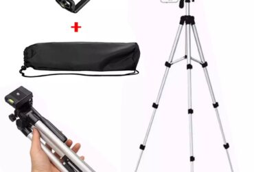 Universal Portable Mini Aluminum Phone Photography Tripod Holder And Built In Level 3-Section Professional SLR Camera Tripod