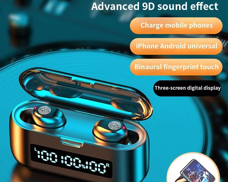 New Upgrade F9 Bluetooth Earphone