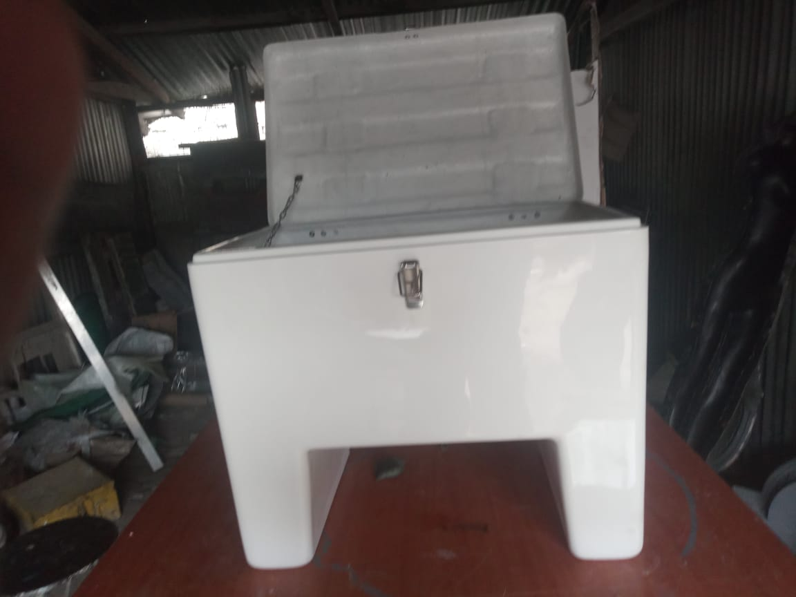 fibreglass delivery boxes