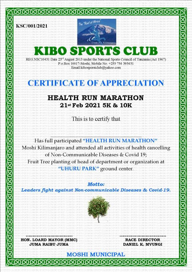 kibo sports club