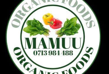 Mamuu Organic Foods – wauzaji wa mboga mboga Moshi Kilimanjaro zisizotiwa Sumu